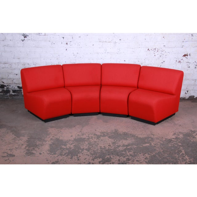 Late 20th Century John Mascheroni for Vecta Tappo Modular Sectional Sofa For Sale - Image 5 of 10