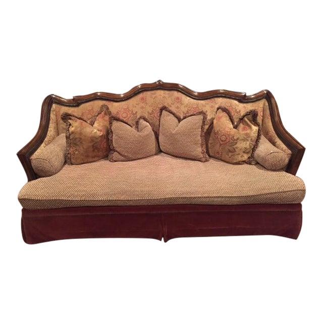 Old World Vintage Style Sofa Chairish