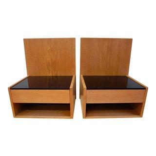 Hans Wegner Danish Modern Teak Nightstands - a Pair For Sale