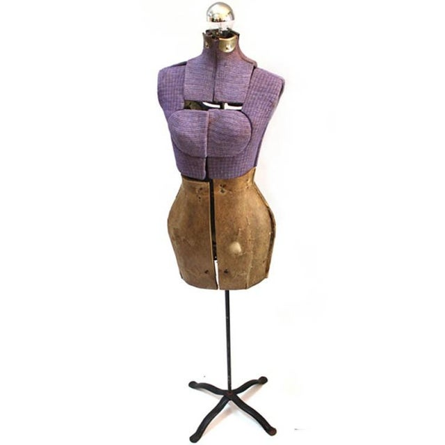 Vintage Purple Mannequin Floor Lamp - Image 2 of 5