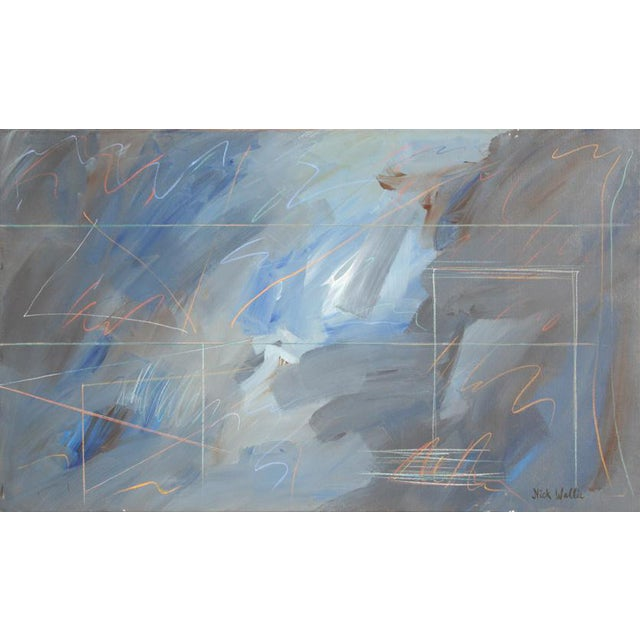 Nick Wallis, More Afterthoughts 17, Acrylic on Canvas, Signed l.r. For Sale