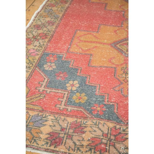 """Vintage Oushak Rug - 4'7"""" x 8'2"""" - Image 7 of 9"""