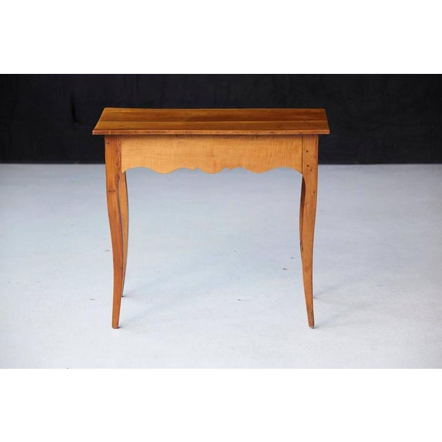 19th Century French Provincial Fruitwood Occasional Table For Sale In New York - Image 6 of 10
