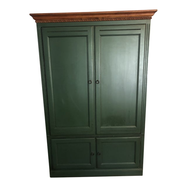 Ethan Allen Country Crossings Tv Armoire For Sale