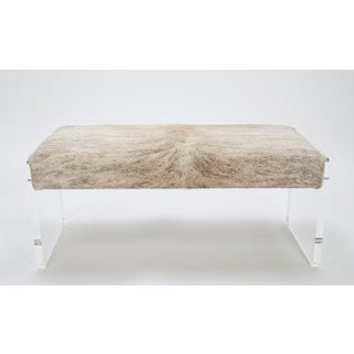 "Samantha Brindle Beige & Gray 60"" Bench Preview"