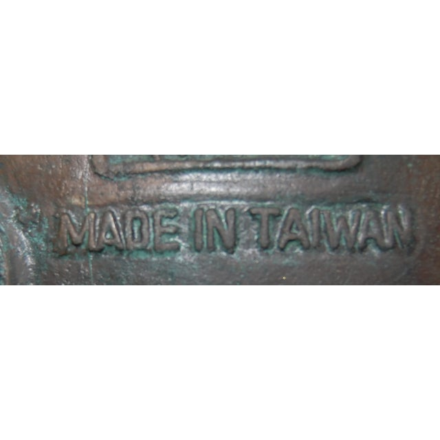Metal James Mont-Attributed Mayan Ice Bucket For Sale - Image 7 of 7