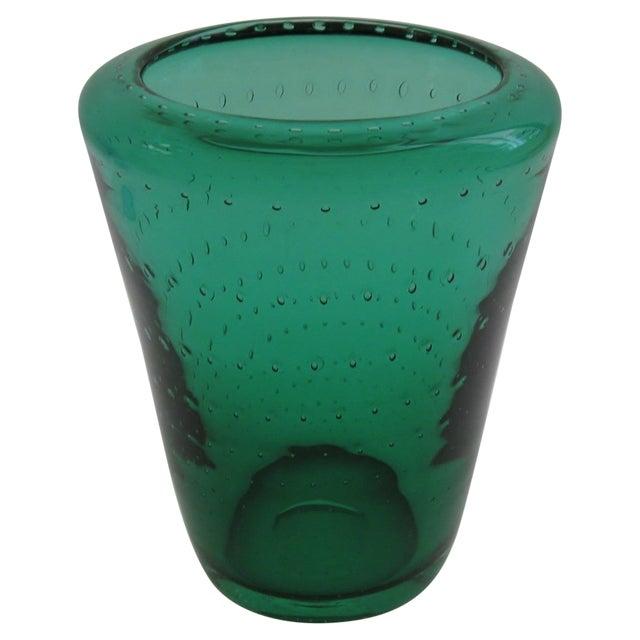 Vintage Erickson Glass Vase For Sale