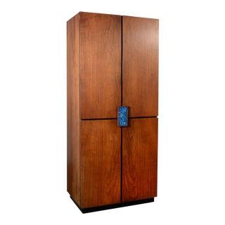 Richard Thompson Stereo Cabinet or Bar by Glenn of California For Sale