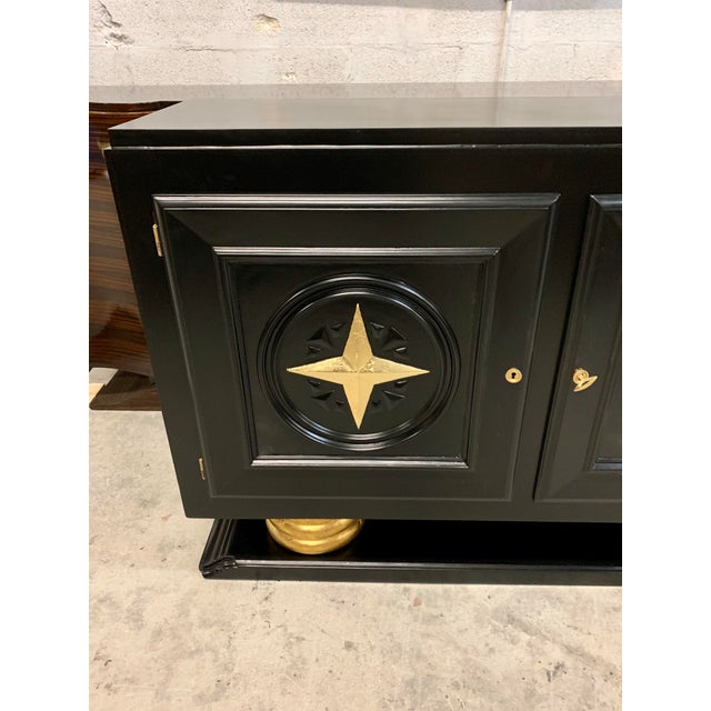 1940s Vintage French Art Deco Sideboard / Buffet / Bar For Sale - Image 12 of 13