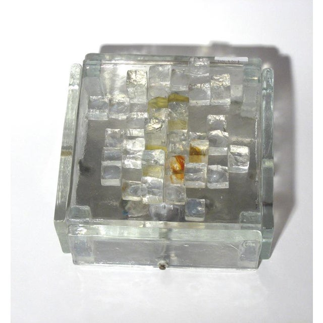 Modern Poliarte Cut Glass Wall Lights - A Pair For Sale - Image 3 of 4
