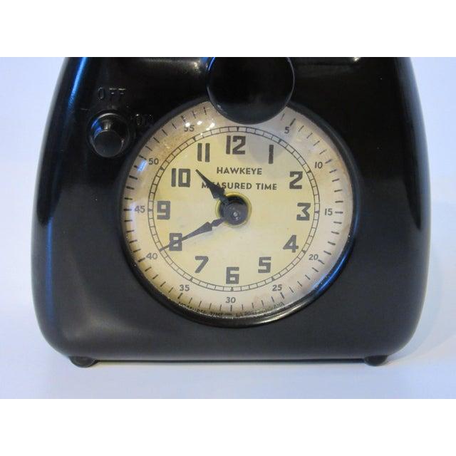 Bakelite Isamu Noguchi Hawkeye Timer For Sale - Image 7 of 12