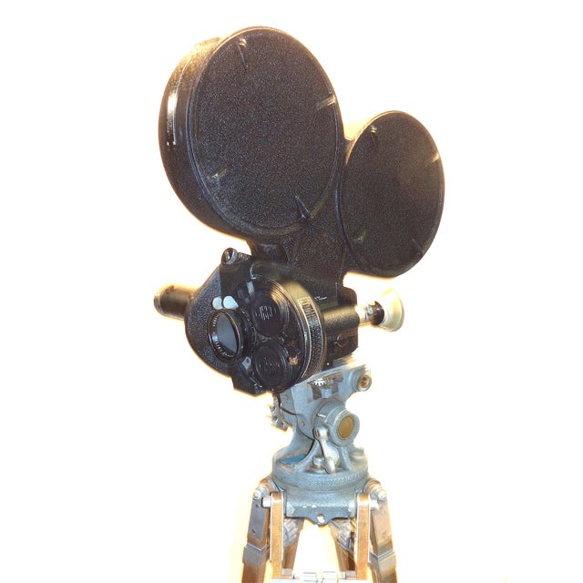 CineFlex 35mm Movie Camera Ww-II Designed Combat Camera, Pristine Time Warp Unit For Sale - Image 4 of 13