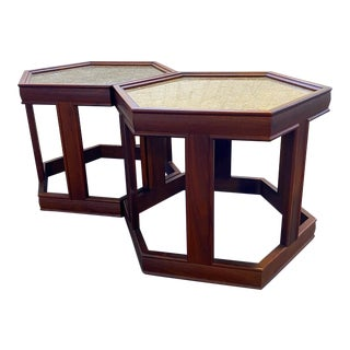Mid Century John Keal for Brown Saltman Side Tables - a Pair For Sale