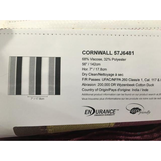 JF Fabrics Nobility Stripe Fabric - 3 Yards - Image 5 of 5
