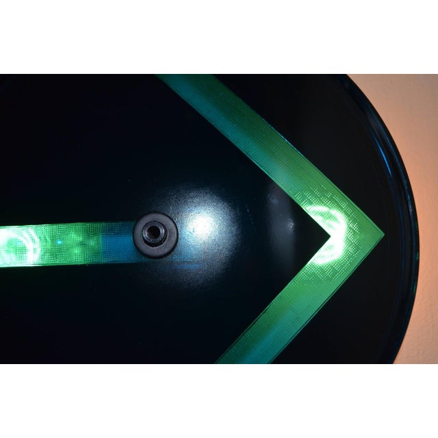 1970s Traffic Signal Light Wall Sconce For Sale - Image 5 of 11