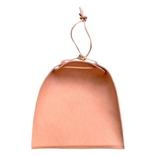 Right Proper Handmade Natural Leather Dust Pan For Sale