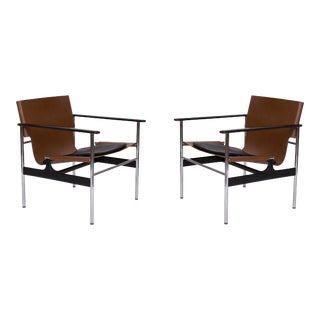 Charles Pollock Chairs for Knoll For Sale