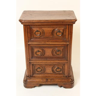 Antique Baroque Style Walnut Chest of Drawers Preview