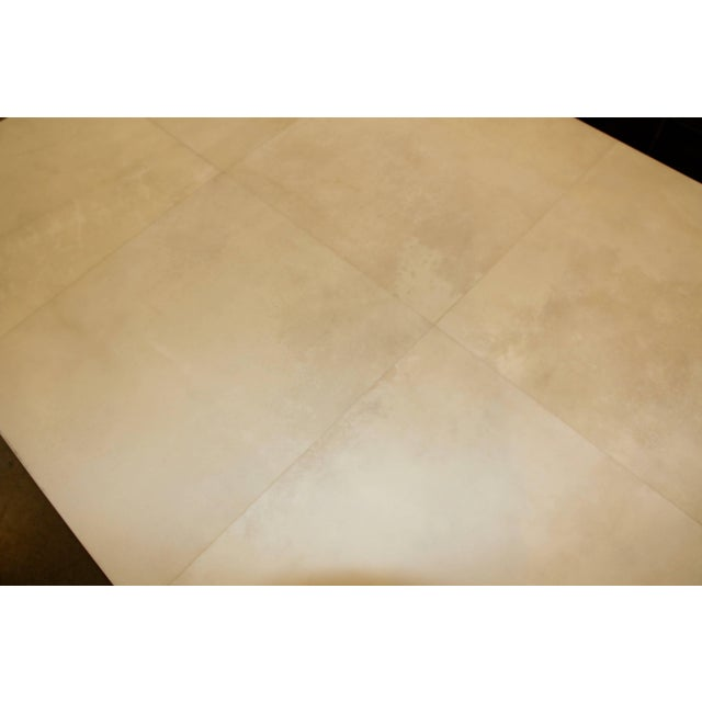 Christopher Kennedy Beautiful Parchment Top Table by Christopher Kennedy For Sale - Image 4 of 10