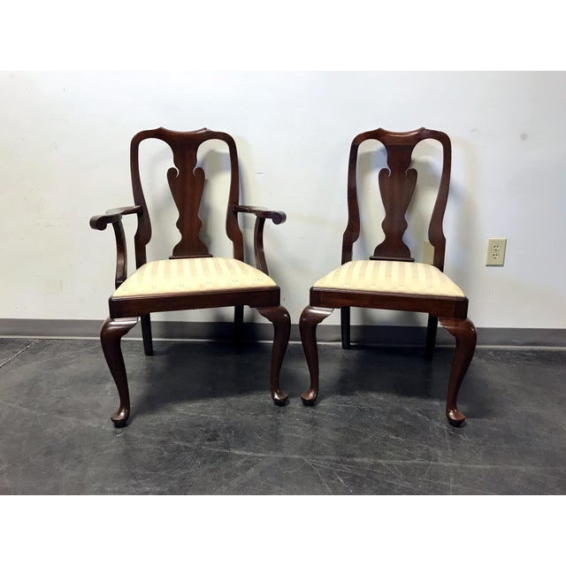 Henkel Harris Dining Room Furniture: Henkel Harris Mahogany Queen Anne Dining Chairs