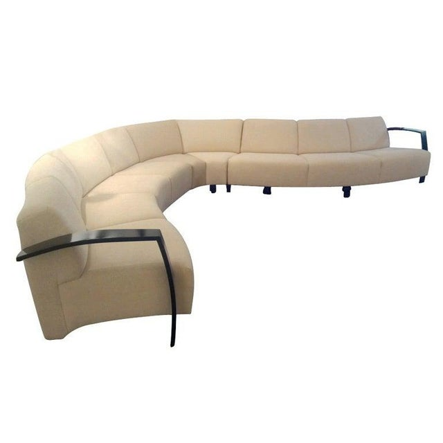 Thonet Large Serpentine Sectional Sofa For Sale - Image 9 of 9