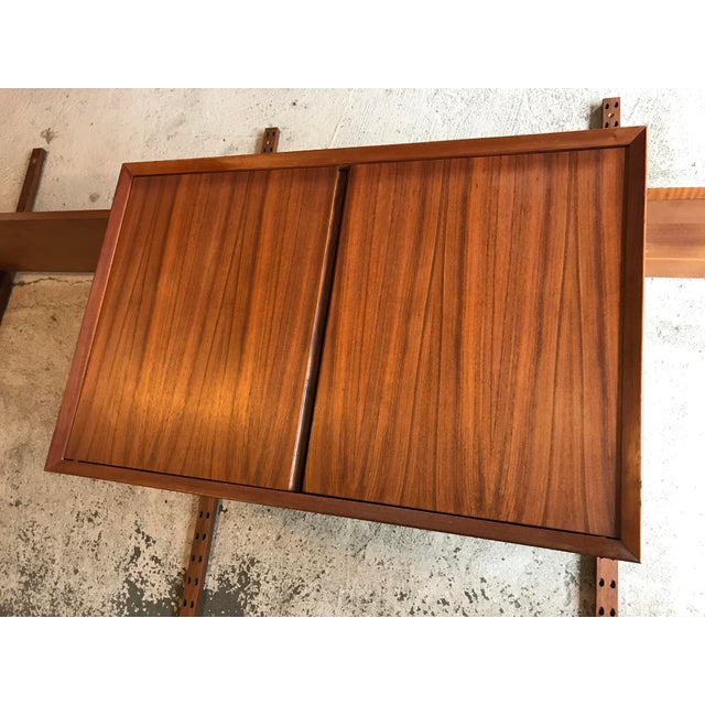 Teak Poul Cadovius Teak Cado Wall Unit Denmark For Sale - Image 7 of 13