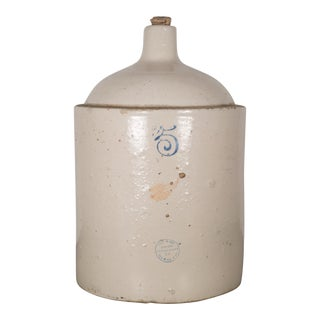 Ceramic Crock Jug by Red Wing Union Stoneware Company C.1900 For Sale