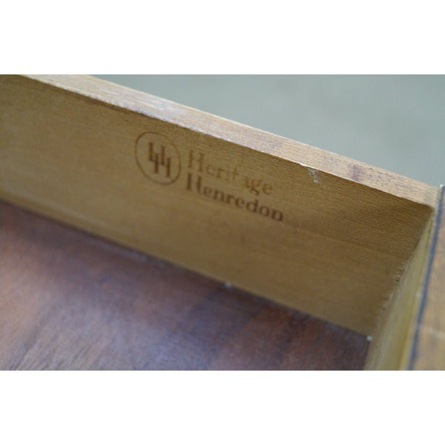 Heritage Henredon Mid Century Modern Nightstand - Image 6 of 10