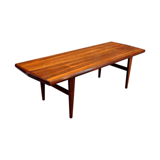 Mid-Century Danish Rosewood Coffee Table - Image 1 of 8