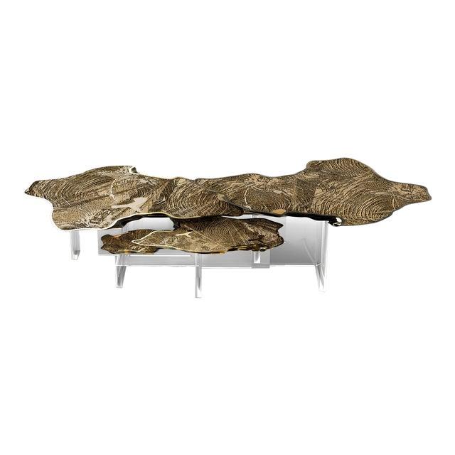 Monet Gold Center Table For Sale