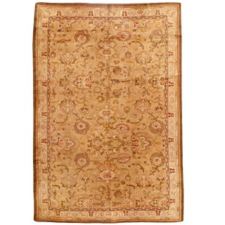 Antique English Axminster Carpet For Sale