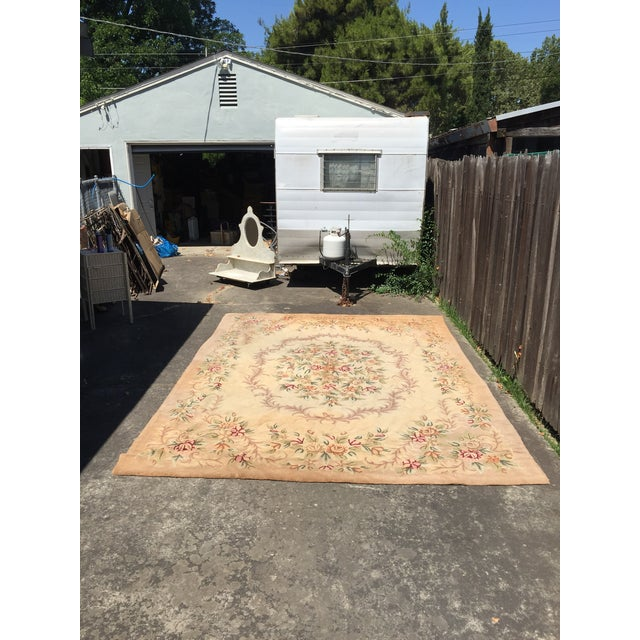 "Gorgeous Vintage Rug - 8'4"" X 11'8"" For Sale - Image 4 of 4"