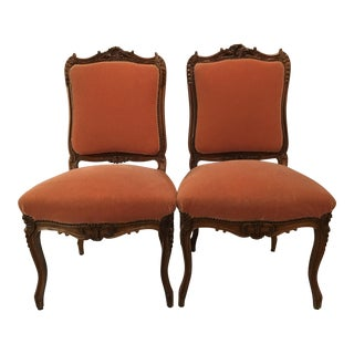 Louis XV Style Chairs - a Pair For Sale