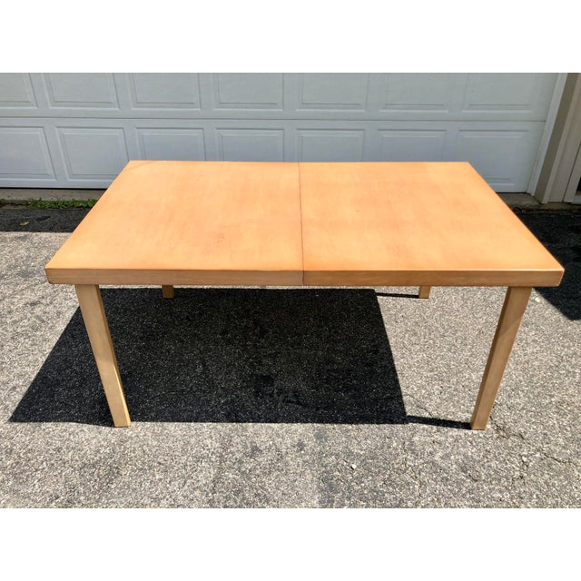 Mid-Century Modern Mid Century 1940s Finnish Birch Extention Dining Table by Alvar Aalto for Artek For Sale - Image 3 of 13