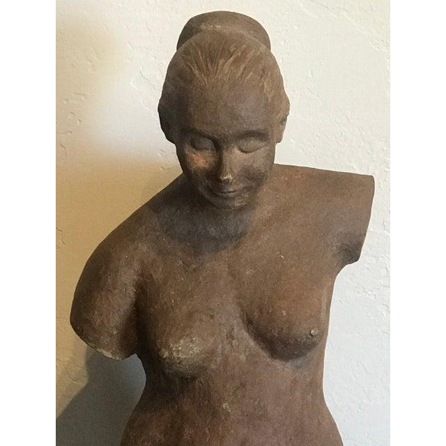Nude Woman Terracota Sculpture For Sale In Phoenix - Image 6 of 7