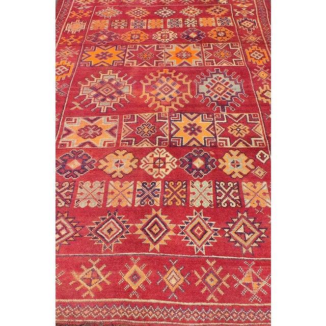 Keivan Woven Arts, S12-0410, Vintage Mid-Century Moroccan Rug - 5′4″ × 10′ For Sale In Atlanta - Image 6 of 10