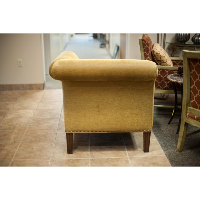 Chanel Chaise Lounge Chair with Nailheads - Image 4 of 9