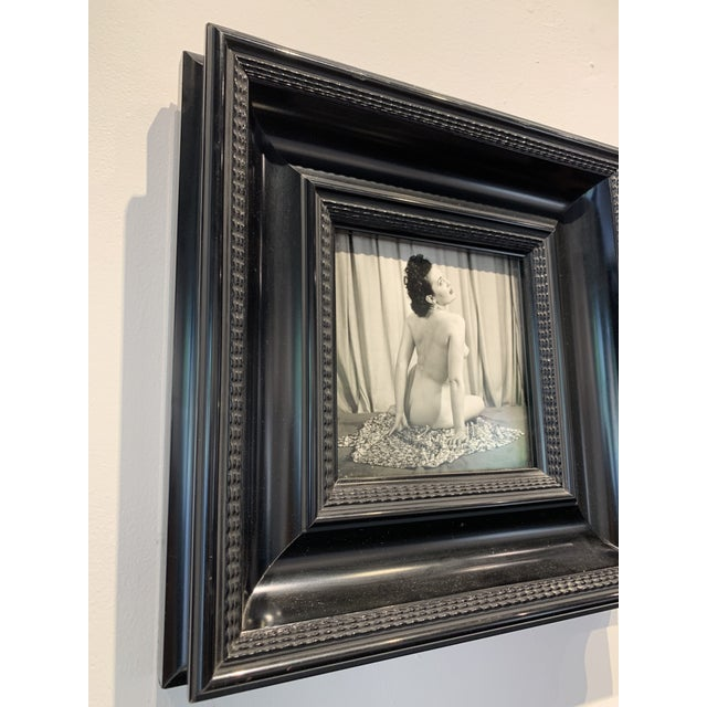 Nude Black and White Framed Photograph For Sale - Image 4 of 5