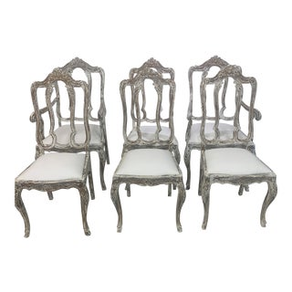 Vintage Louis Chairs- Set of 6 For Sale