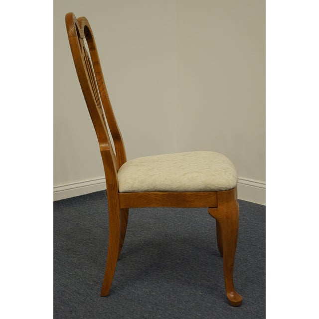 Brown Pennsylvania House Solid Oak Country French Side Chair For Sale - Image 8 of 11
