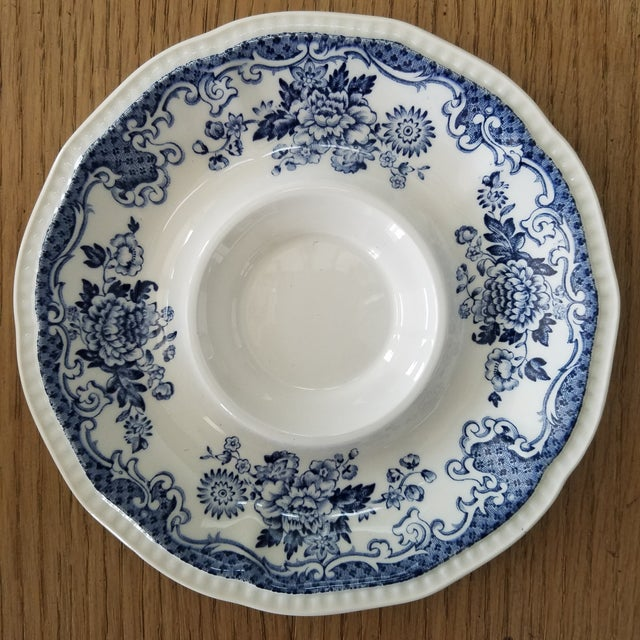 Kensington Stafforshire Ironstone Balmoral 1801 Cups & Saucers, 22 Piece For Sale In Dallas - Image 6 of 10