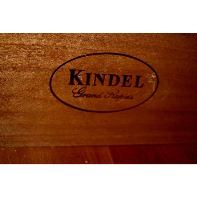 Vintage Kindel Mahogany New England Style Highboy For Sale - Image 11 of 13