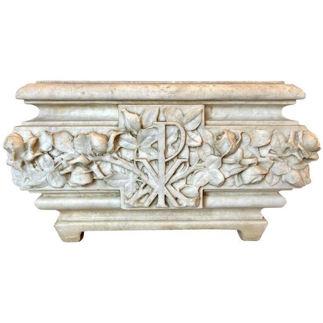19th Century Marble Planter or Jardinière For Sale - Image 13 of 13