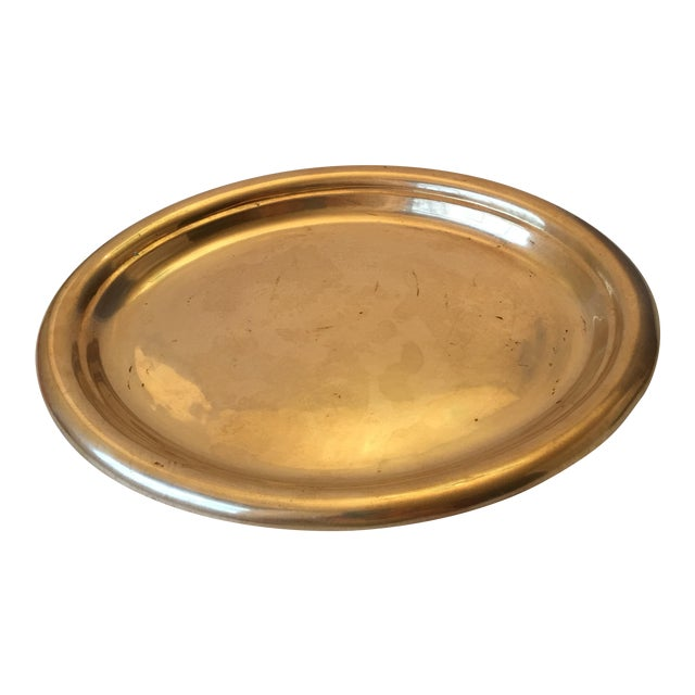 Oval Brass Tray - Image 1 of 5