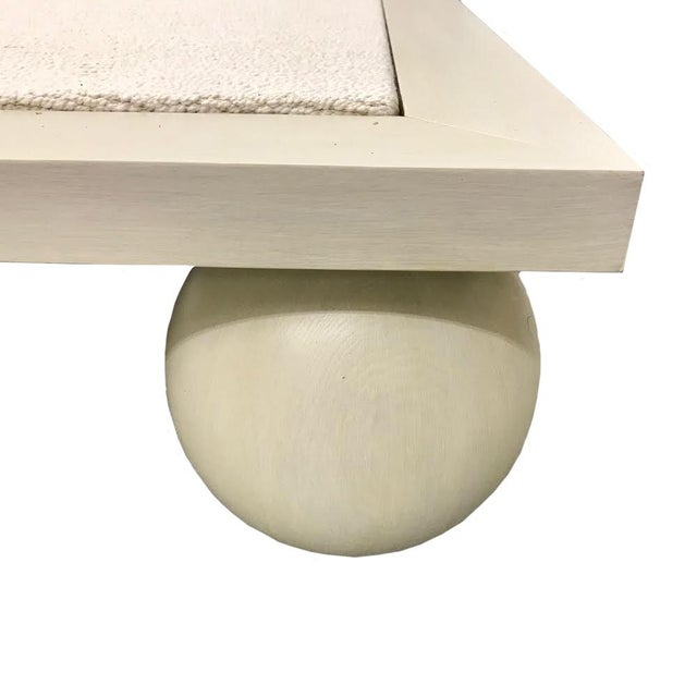 Contemporary Jp Upholstery Cleo King Bed For Sale - Image 3 of 6