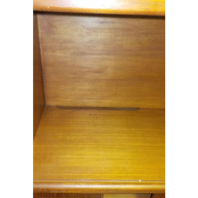 MCM Teak Cabinet With Tambour Doors by Dyrlund For Sale - Image 7 of 8