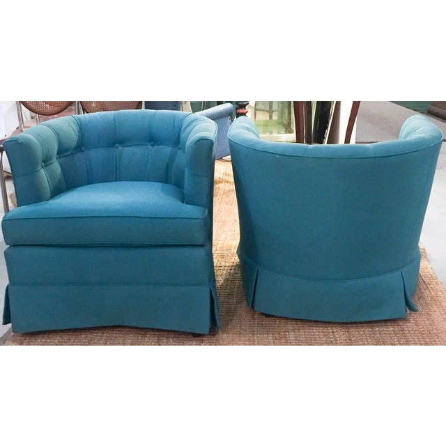 Mid-Century Hollywood Regency Drexel Heritage Chairs - Pair - Image 5 of 10