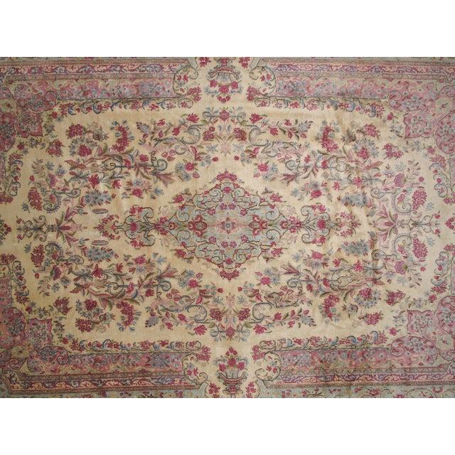 """Leon Banilivi Lavar Kerman Carpet - 9'7"""" X 14'4"""" - Image 3 of 6"""