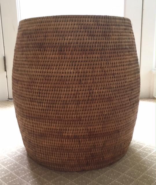 Finest Boho Rattan Garden Stool | Chairish TU53