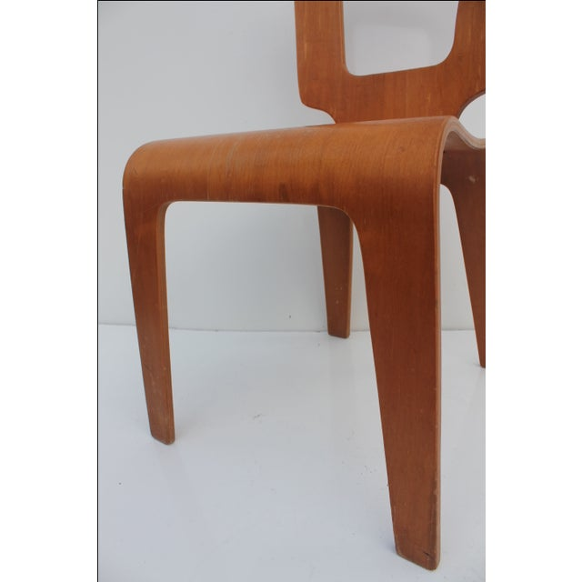 Thaden Jordan Mid-Century Bentwood Birch Chair For Sale - Image 4 of 11